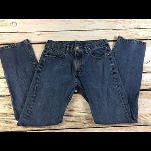 Levis 505 Mens 30x32 Jeans Straight Classic